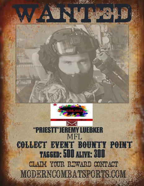 CQB CITY 4/18 WANTED:Jeremy Luebker