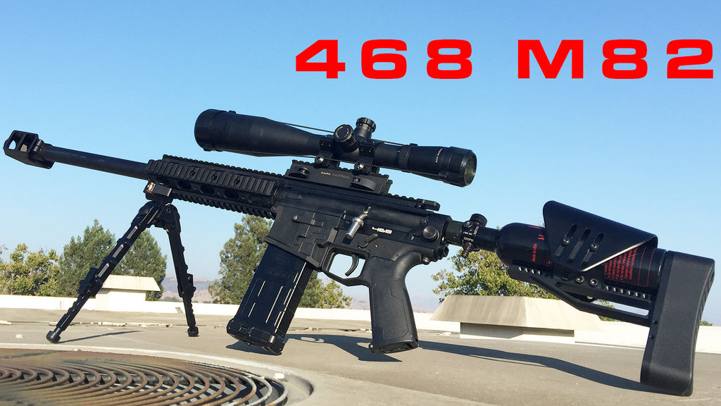 VIDEO: M82 Sniper Paintball Gun Shooting Demo