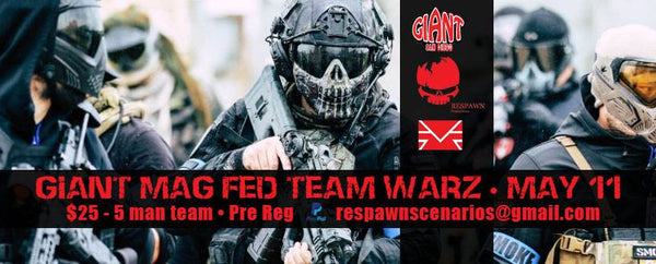 MAG FED Tournament at Gaint San Diego Paintball (May 11th, 2019)