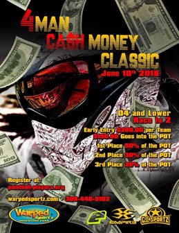 Warped 4 Man Cash Money Classic (2018 June 10)