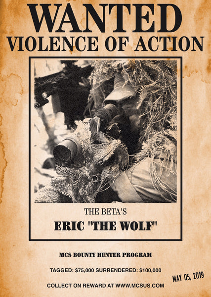 "SOLDIERS OF HAVOC ADVANCED WARFARE: ERIC ""THE WOLF"""
