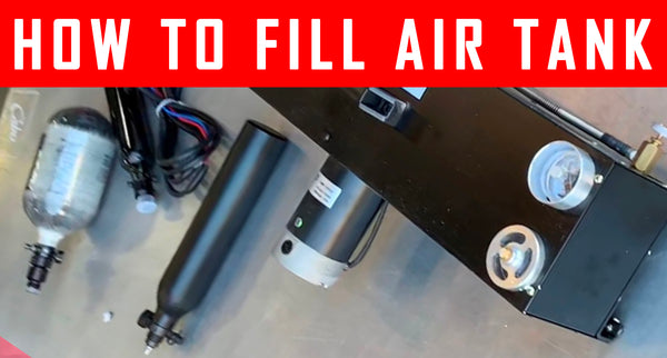 VIDEO: Filling Your Air Tank At Home