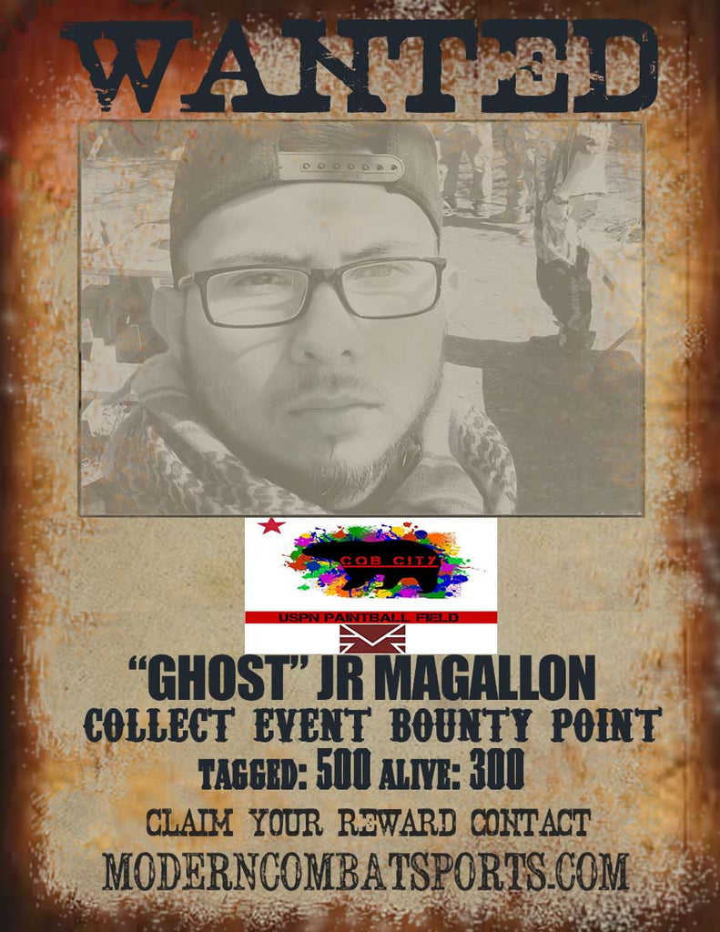 CQB CITY 4/18 WANTED: JR. MAGALLON