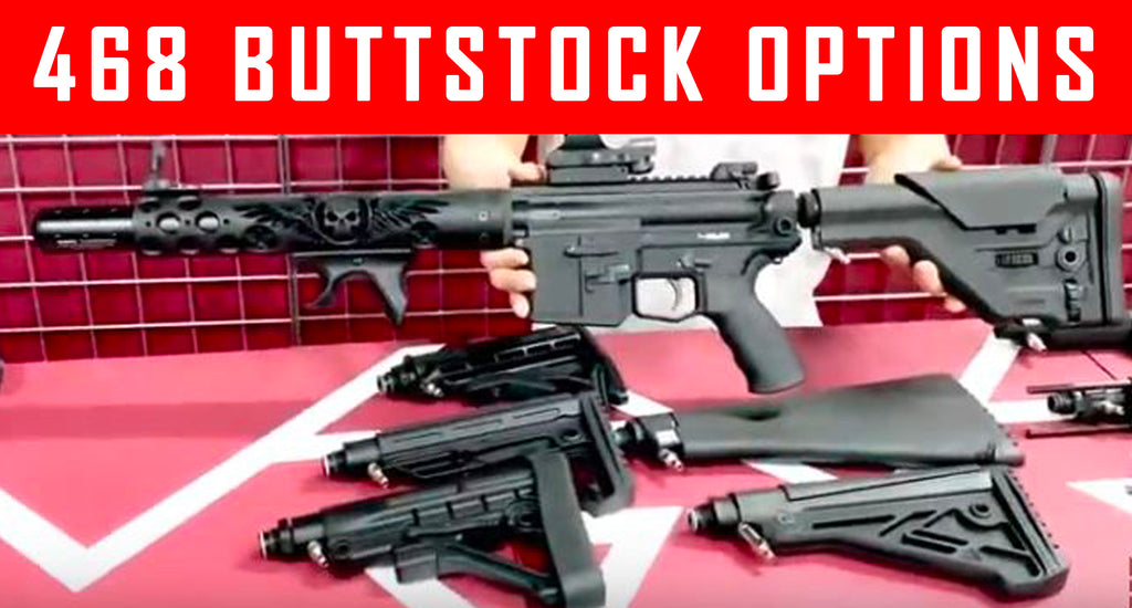 VIDEO:  468 Paintball Gun Buttstock Options