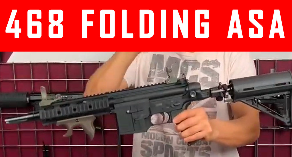 VIDEO: 468 Folding Drop Down ASA Installation