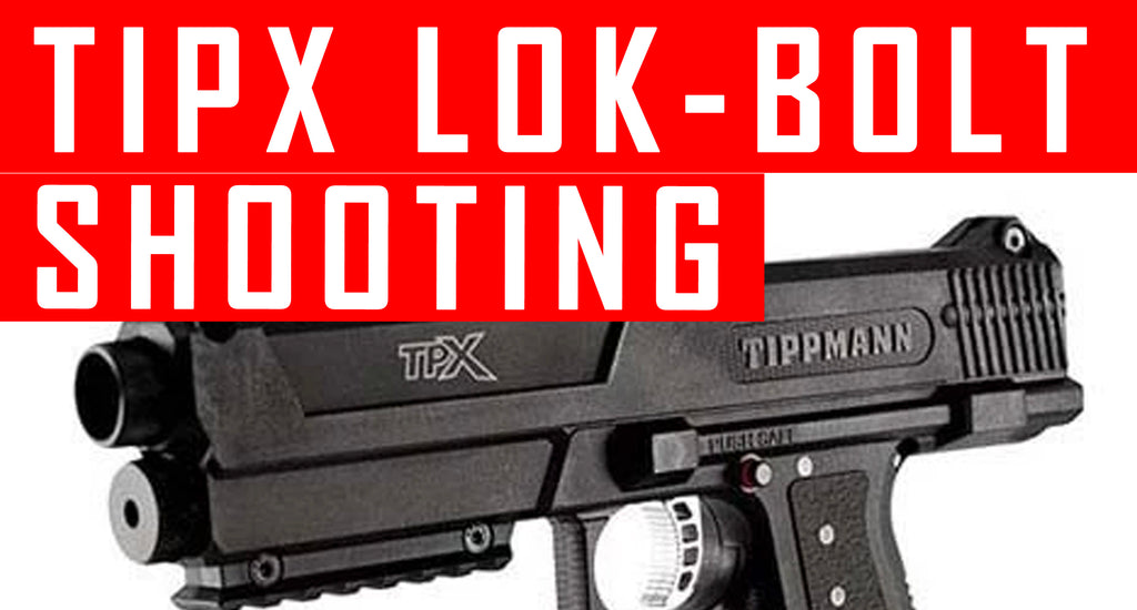 VIDEO: Tippmann Tipx Lok Bolt Installation and shooting Demo