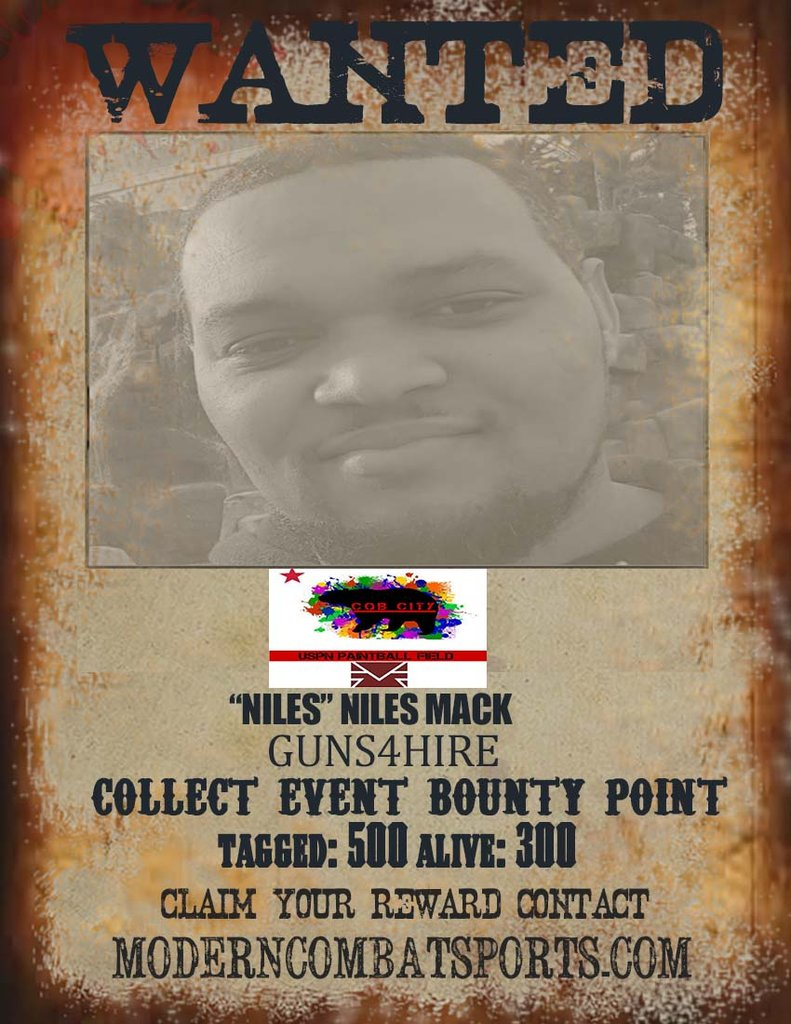 CQB CITY 4/18  WANTED:Niles Mack