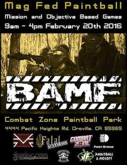 BAMF - Mag Fed Paintball presented by Fatal Scenarios (2016 Feb 20)