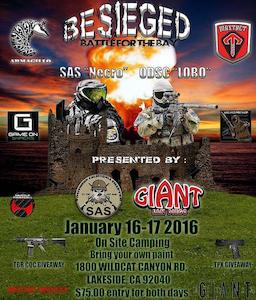 Besieged: Battle for the Bay (2016 Jan 10 to 2016 Jan 11)