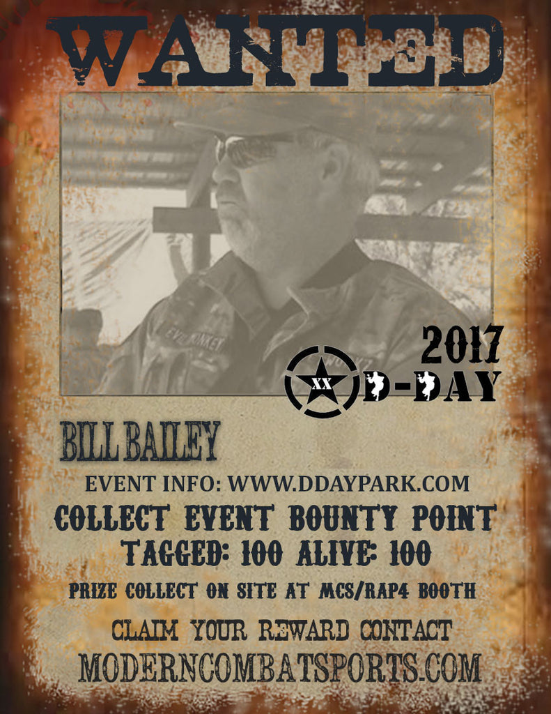 DDAY 2017 Wanted: Bill Bailey (closed)