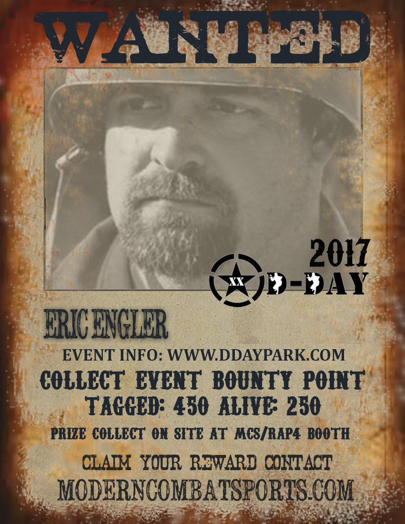DDAY 2017 Wanted: Eric Engler (closed)