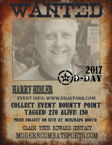 DDAY 2017 Wanted: Harry Hibler (closed)