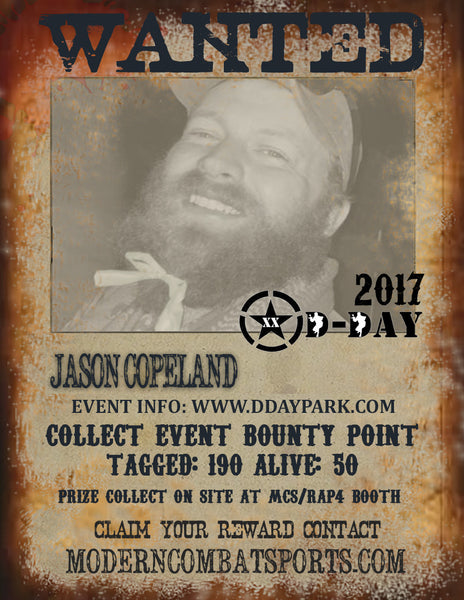 DDAY 2017 Wanted: Jason Copeland (closed)
