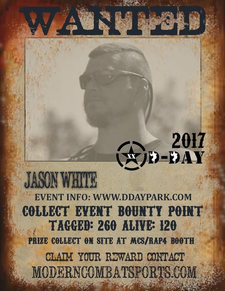 DDAY 2017 Wanted: Jason Grifter White (closed)