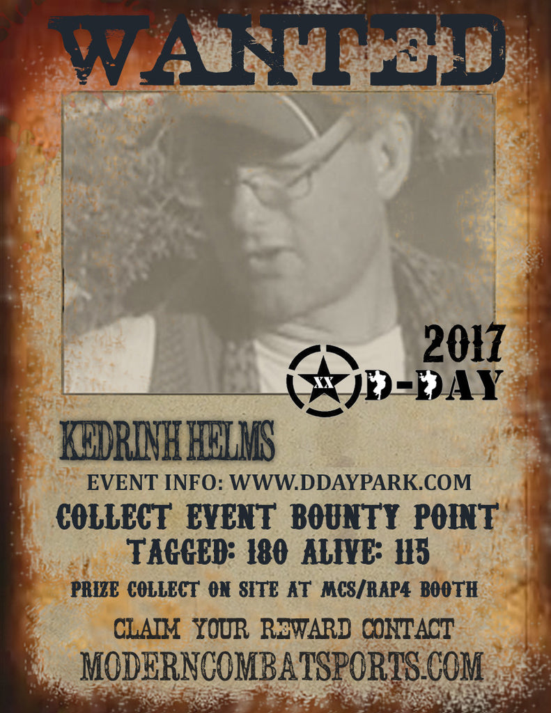DDAY 2017 Wanted: Kedrinh Helms - AKA Stretch (closed)