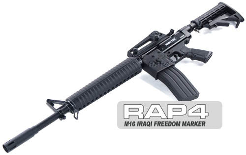 NEW M16 Iraqi Freedom Paintball Markers