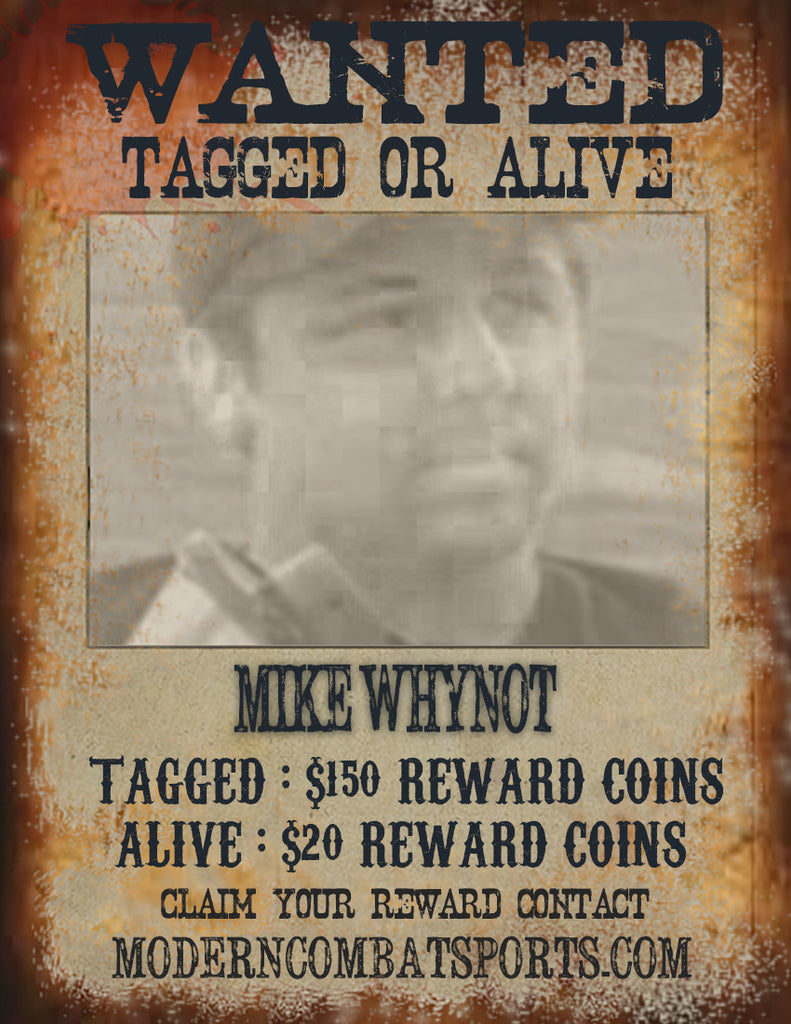 Wanted: Mike Whynot