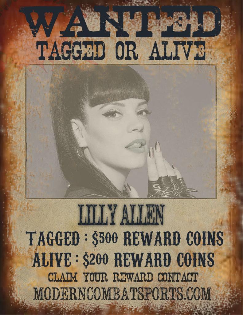 Wanted: Lilly Allen