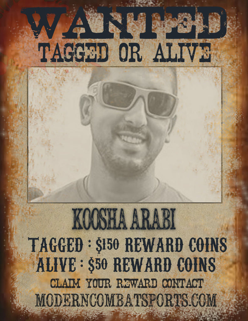Wanted: Koosha Arabi