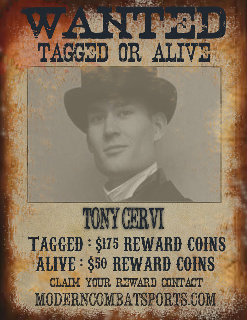 Wanted: Tony Cervi
