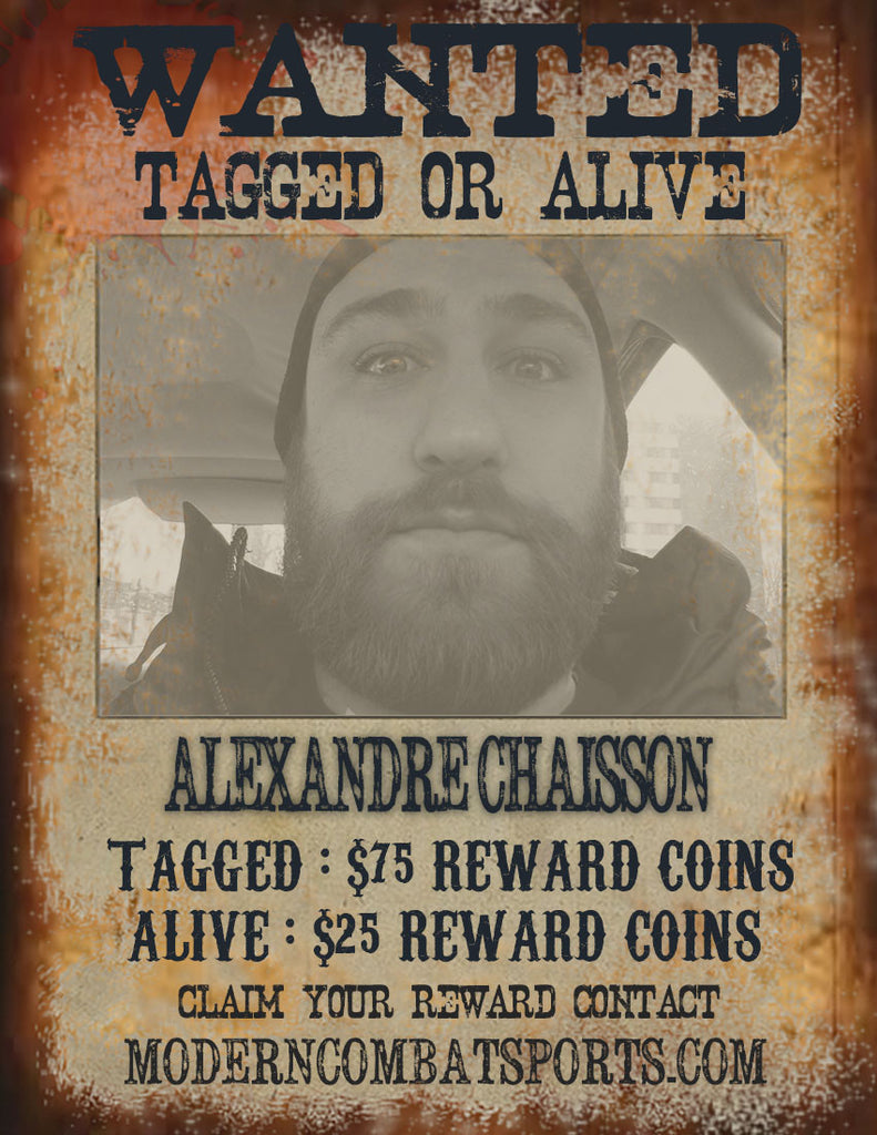 "Wanted: Alexandre ""Bendro""  Chaisson"