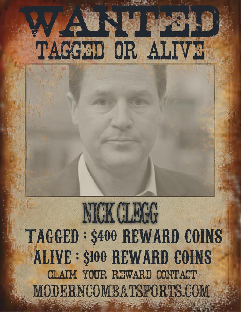 Wanted: Nick Clegg