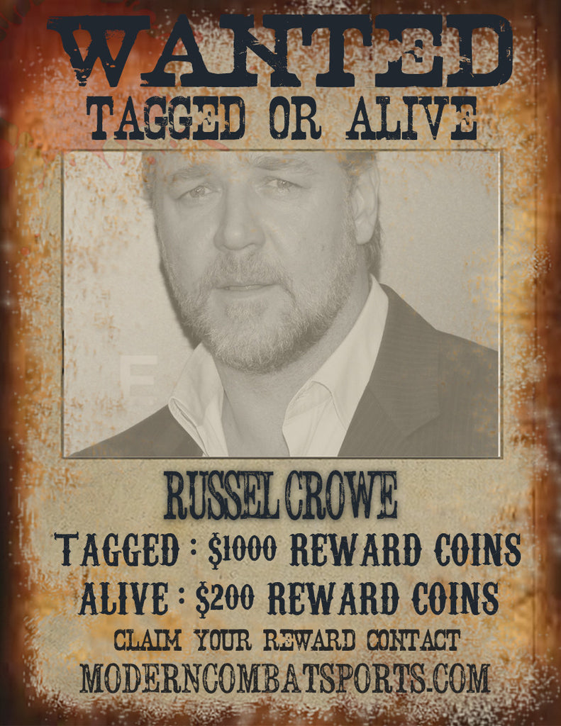 Wanted: Russel Crowe