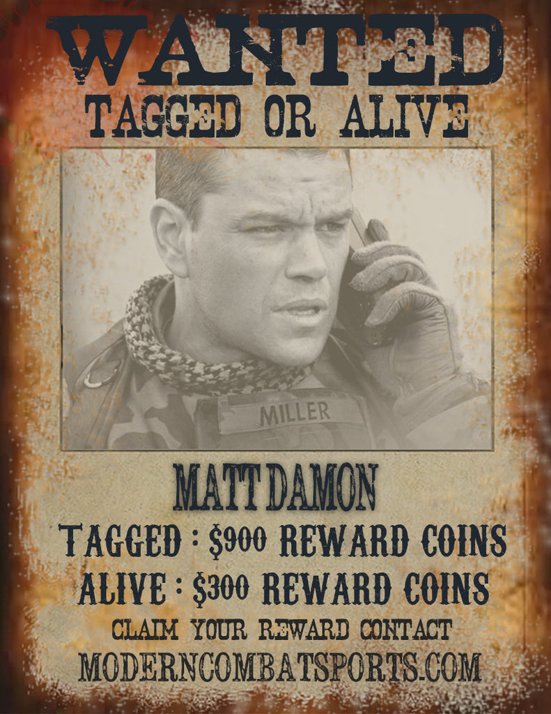 Wanted: Matt Damon