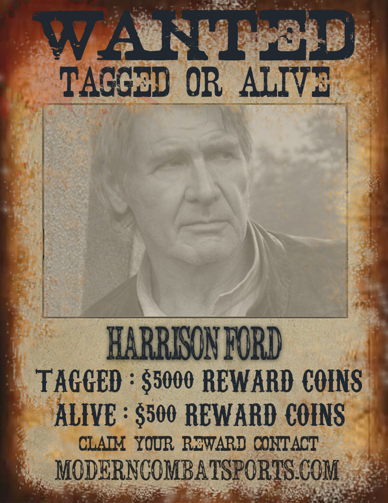 Wanted: Harrison Ford