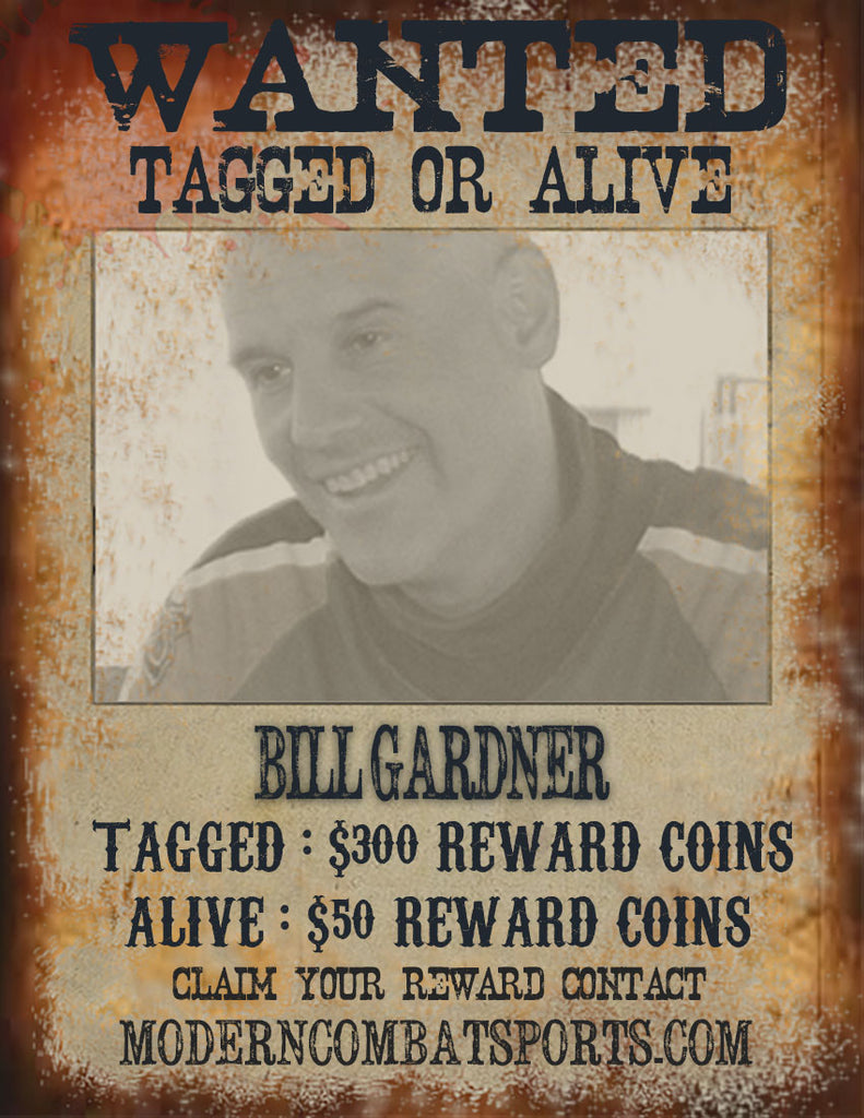 Wanted Bill Gardner