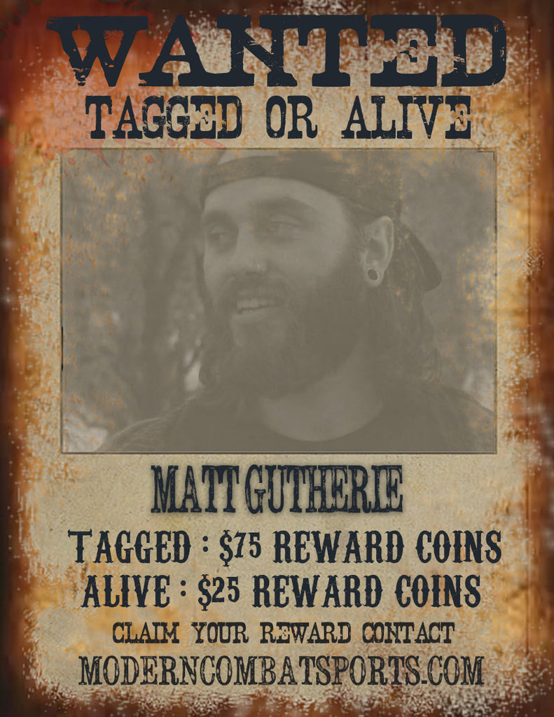 Wanted: Matt Guthrie