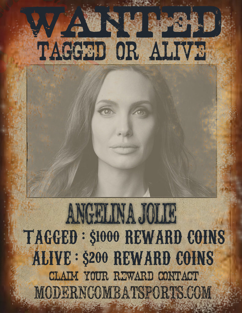 Wanted: Angelina Jolie