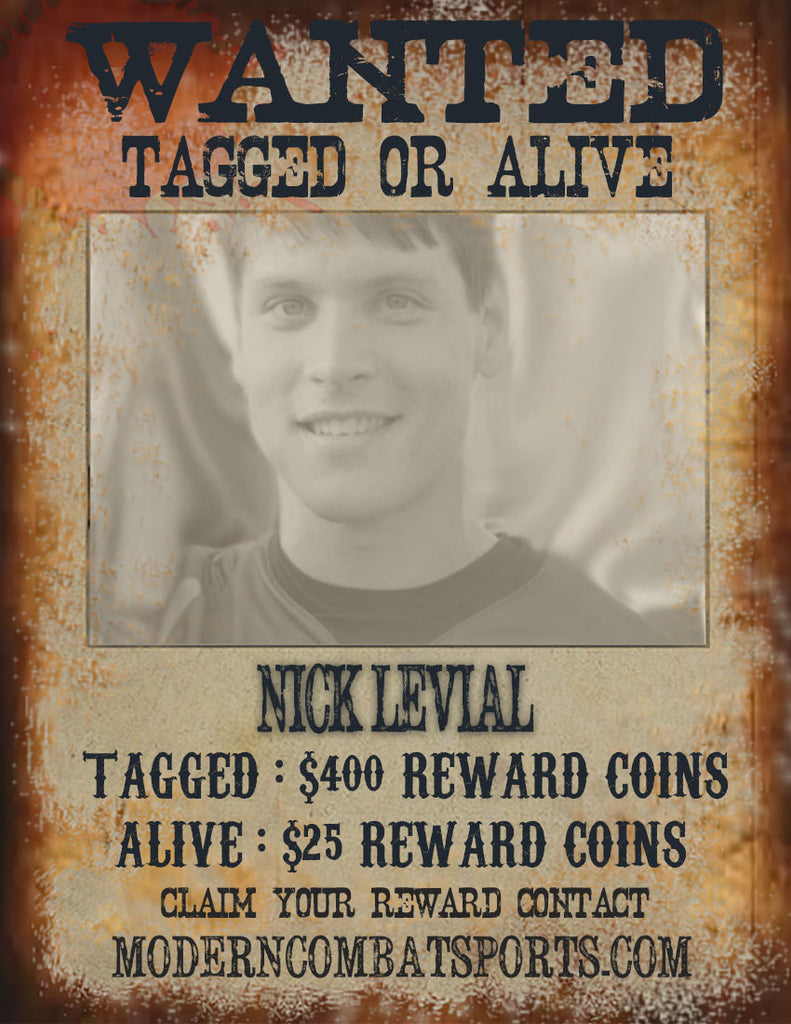 Wanted: Nick Levial