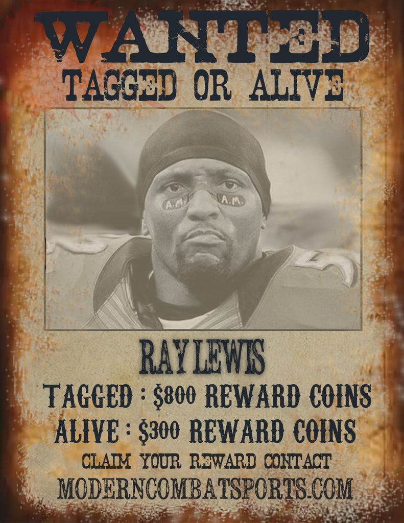 Wanted: Ray Lewis