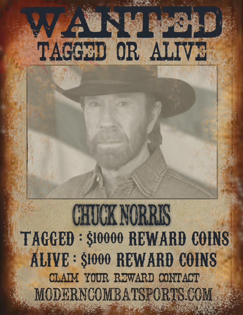 Wanted: Chuck Norris