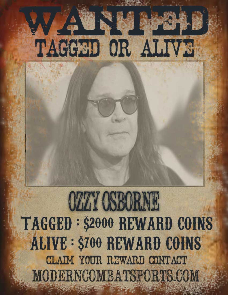 Wanted: Ozzy Osbourne