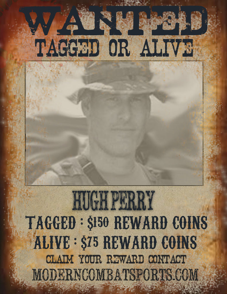 "Wanted: Hugh ""Cpt. Price"" Perry"