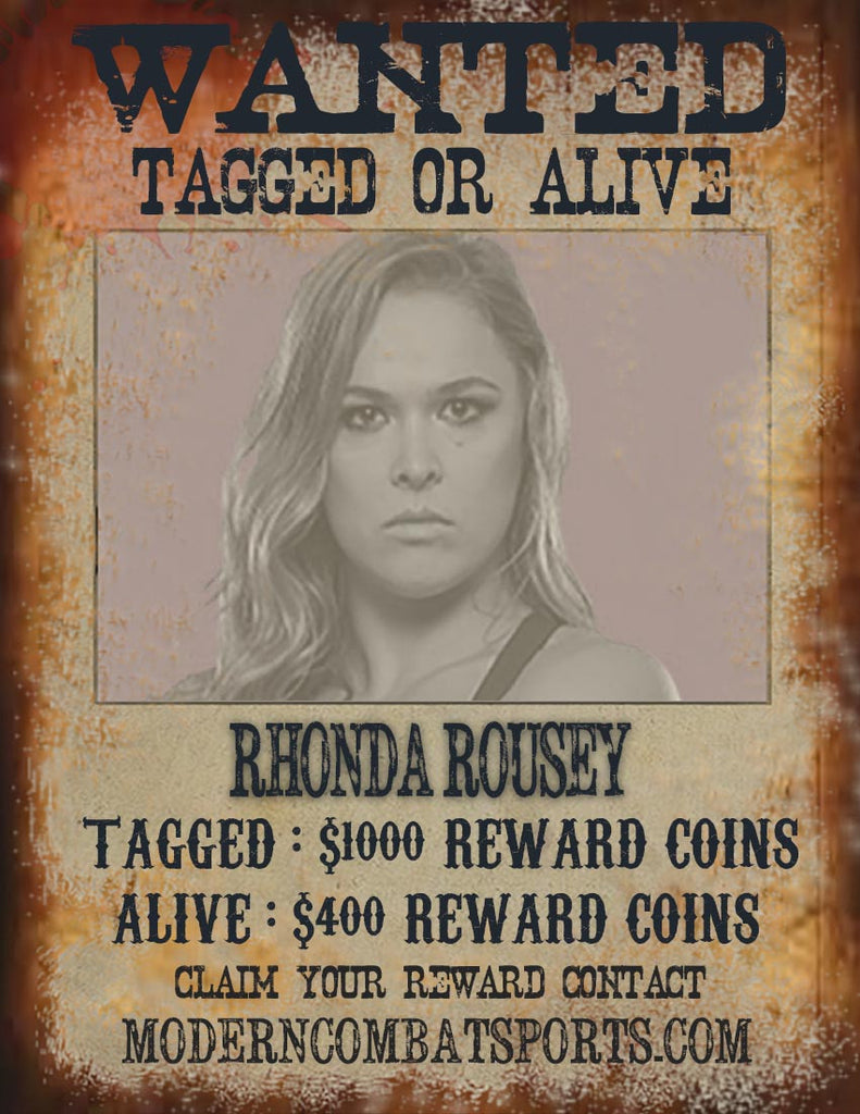 Wanted: Rhonda Rousey