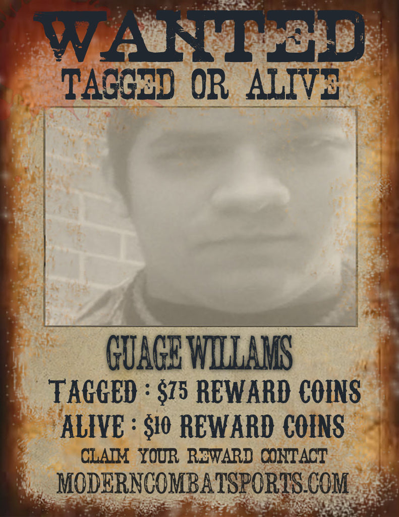 Wanted: Gauge Williams