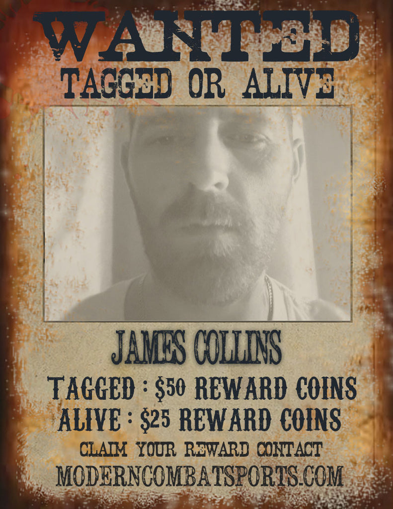 Wanted: James Collins