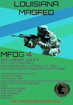 MFOG 4 @ O.F.F. Limits Paintball (2017 July 01)