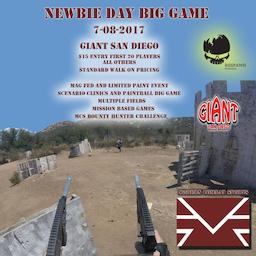 NEWBIE DAY MAG FED LIMITED PAINT BIG GAME (2017 July 08)