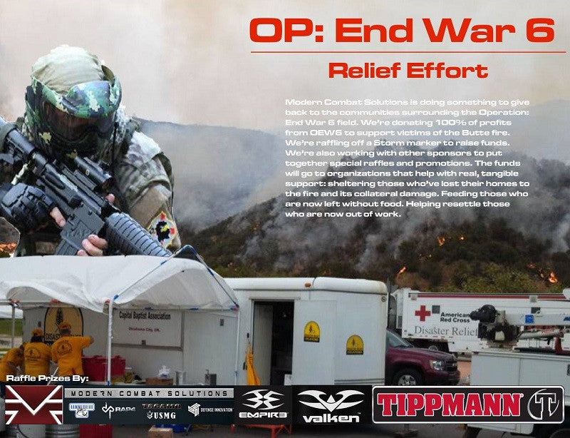 Operation End War 6: NEXT WEEKEND!!!