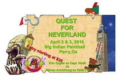 Quest for Neverland (2016 April 02 to 2016 April 03)