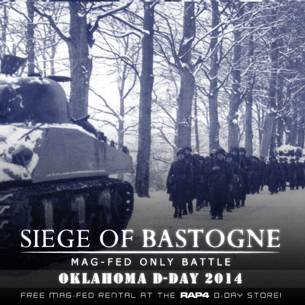 Siege of Bastogne - Mag-Fed Only Battle Oklahoma DDay 2014!