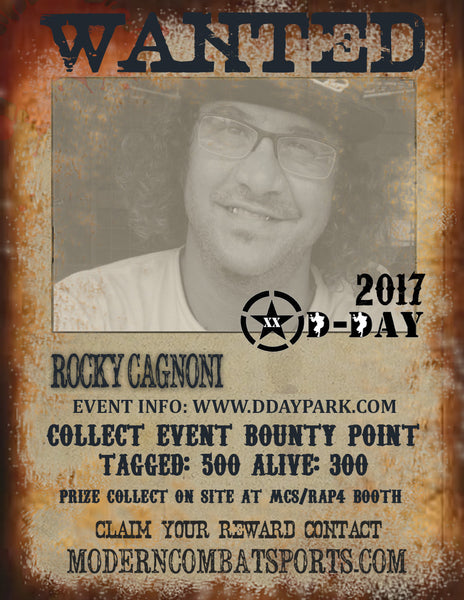 DDAY 2017 Wanted:  Rocky Cagnoni (closed)
