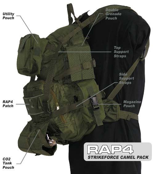 NEW Strikeforce Tactical Camel Pack