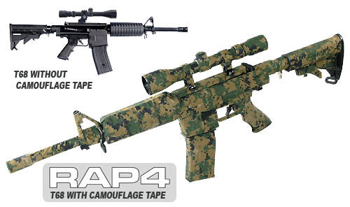 RAP4 Camo Tape Paintball Specific Applications Release