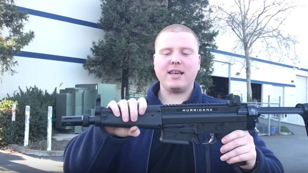 VIDEO:Tacamo Hurricane MP5 Shooting Demo