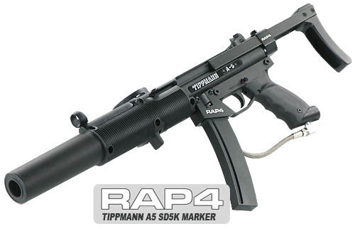 Suppressed Subgun Firepower - Turn the A5 into an MP5SD!
